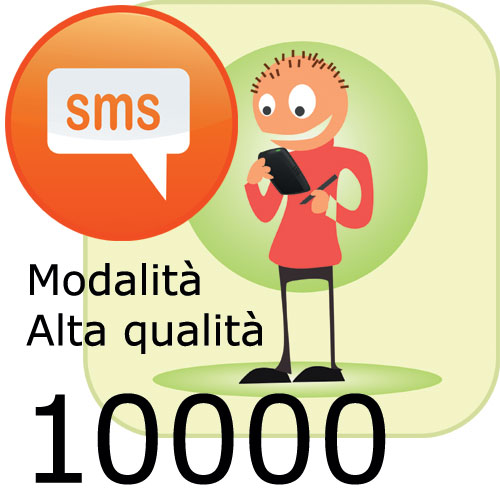 Pacchetto 10000 SMS
