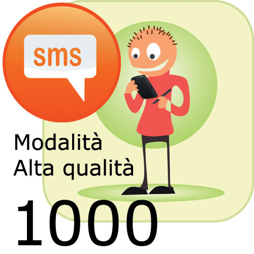 Pacchetto 1000 SMS