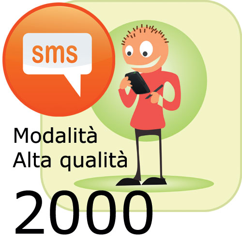 Pacchetto 2000 SMS