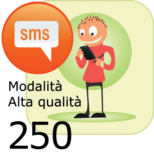 Pacchetto 250 SMS
