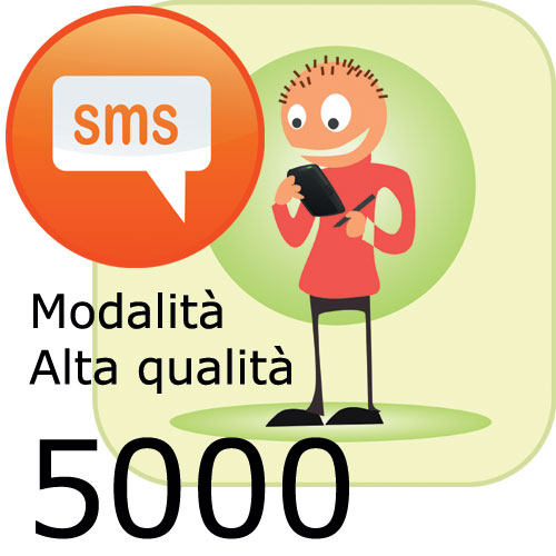 Pacchetto 5000 SMS